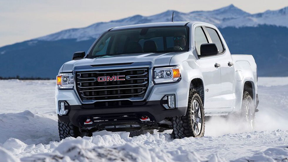 2021 GMC Canyon AT4 off-road