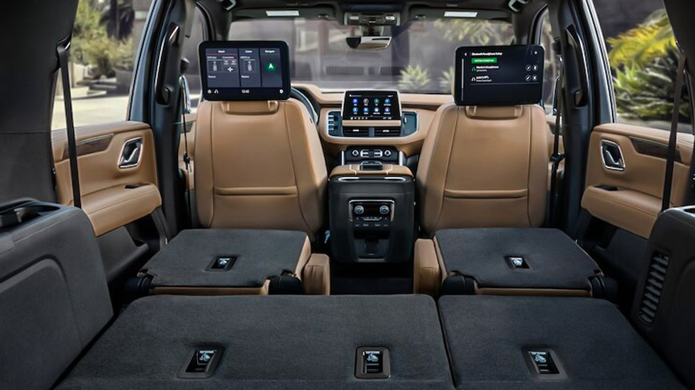 new features for the 2021 chevy suburban and tahoe