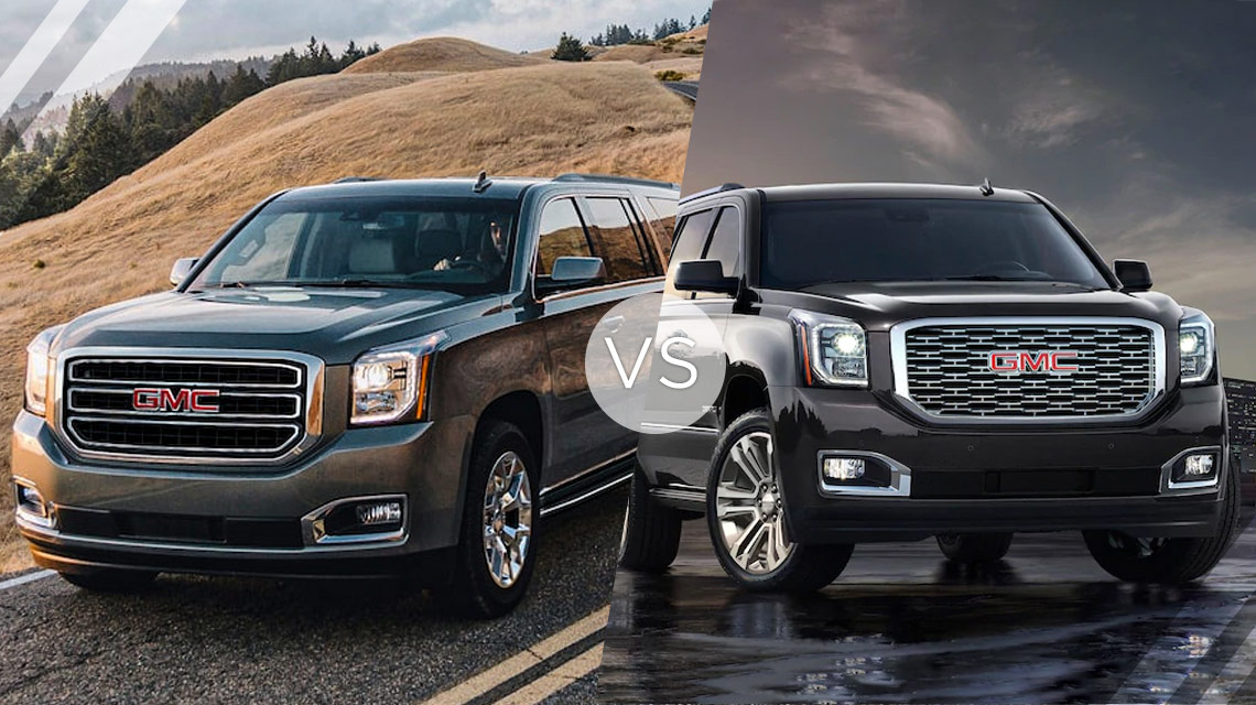 GMC Yukon VS Denali