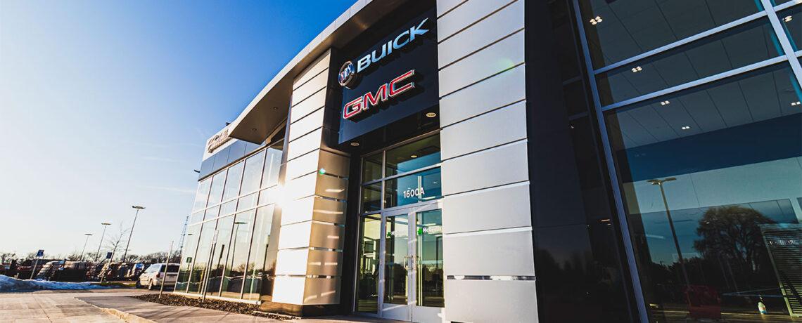 McGrath Buick GMC Cadillac facade