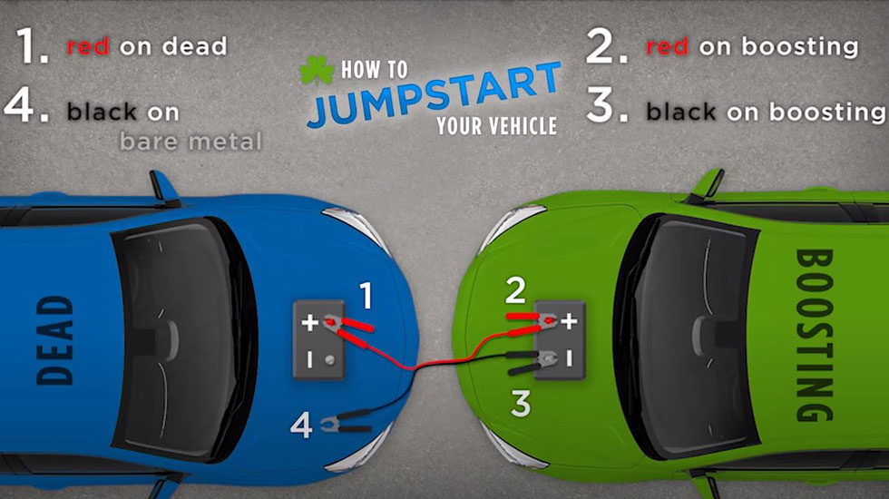 jump start diagram