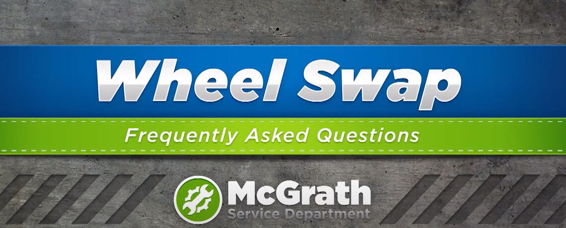 Wheel Swap at McGrath Auto