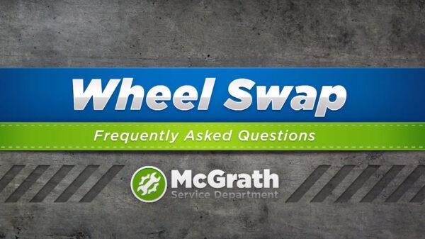 Wheel Swap at McGrath Auto