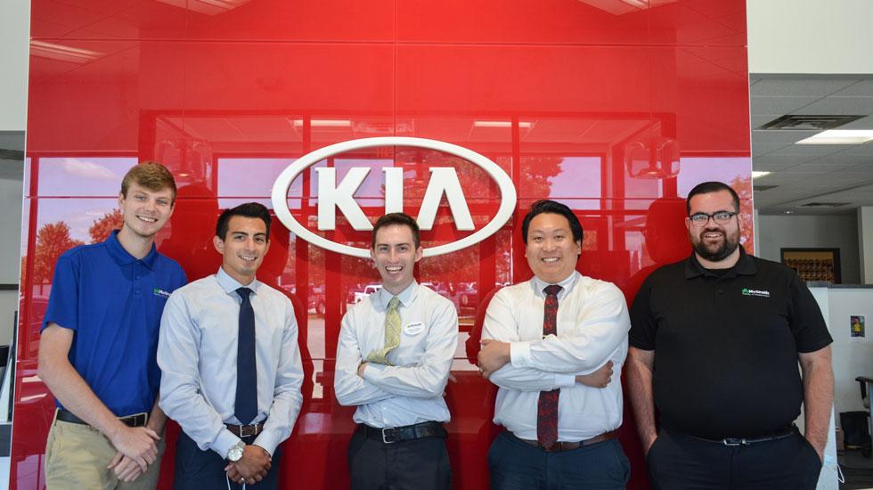 McGrath Kia Team