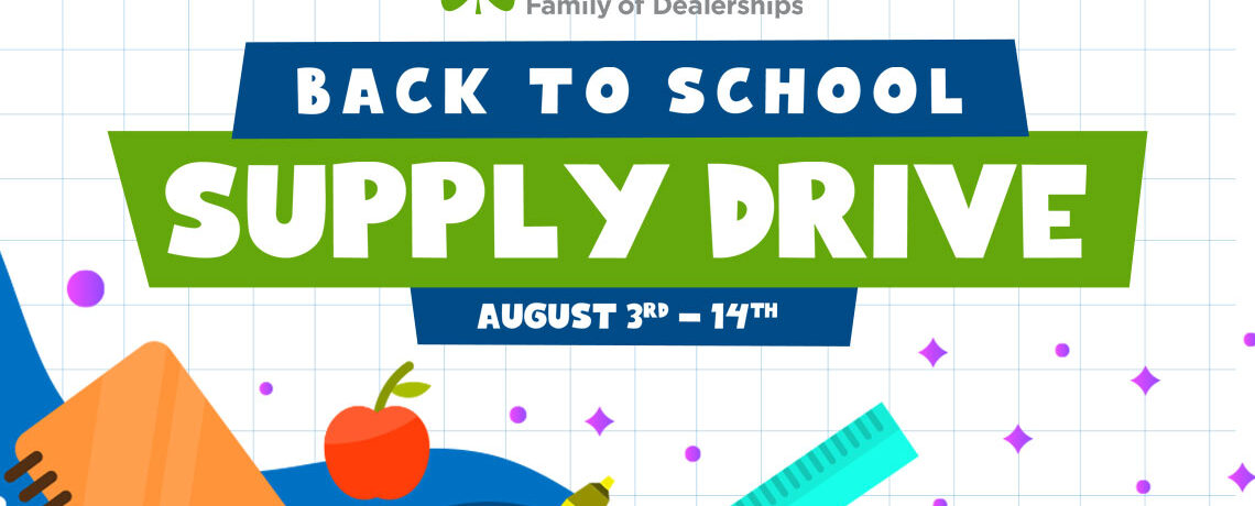 McGrath Back to School Supply Drive