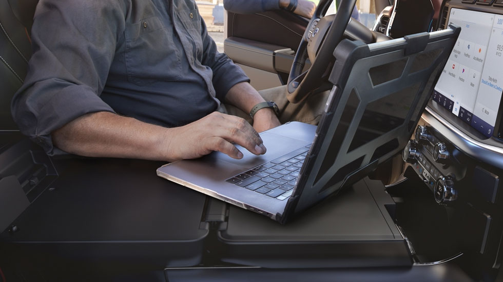 work station in 2021 F-150