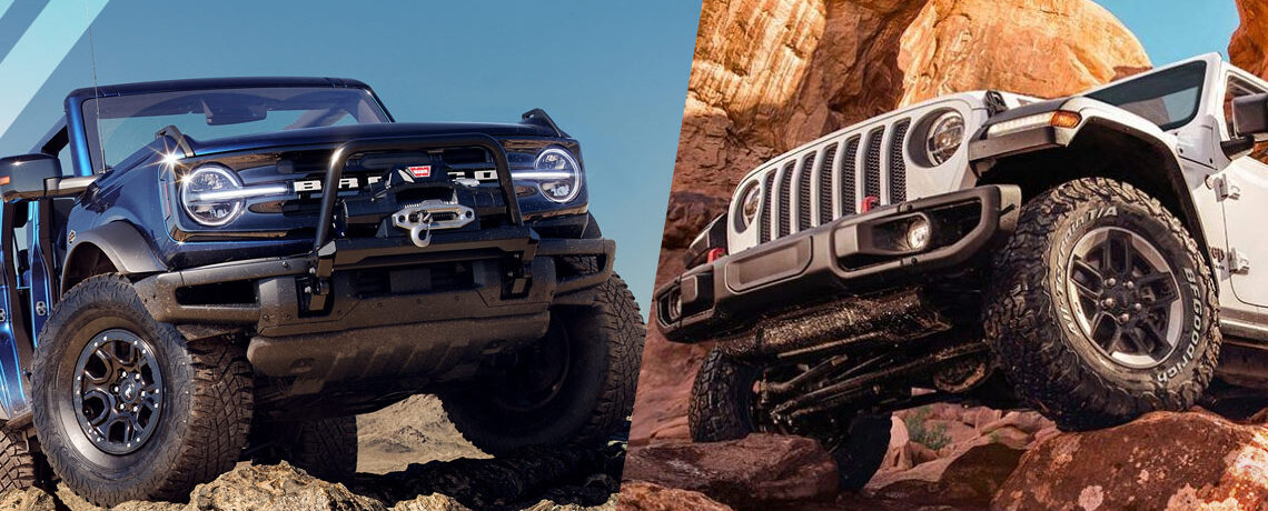 Jeep Wrangler VS Ford Bronco