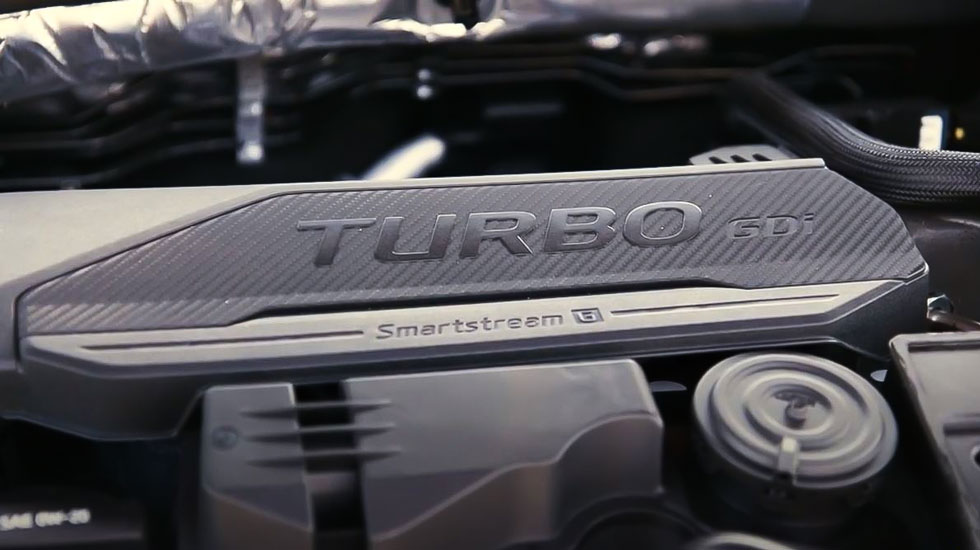 2021 kia k5 turbo engine