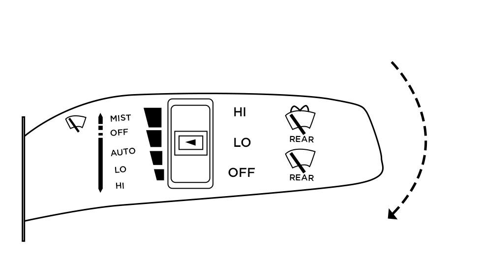 Kia wipers high diagram