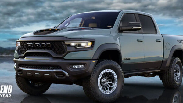 2021 Ram TRX Truck of the Year Award